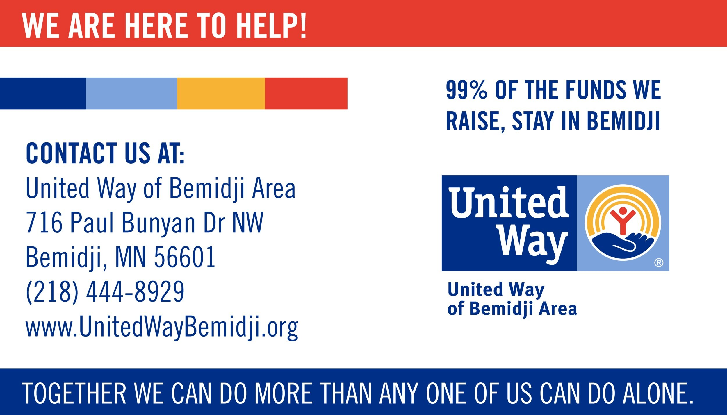 United Way of Bemidji Area contact information