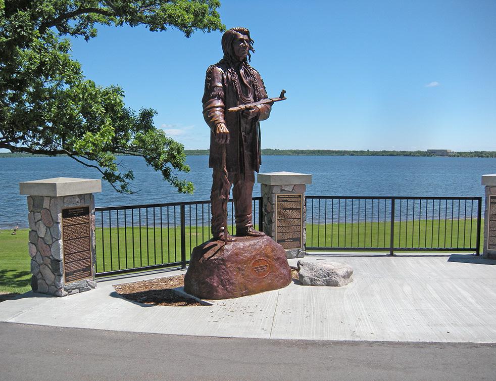 Landscape Architecture - Lake Bemidji Statue